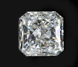 0,70 ct radiant G/VS2 diamant
