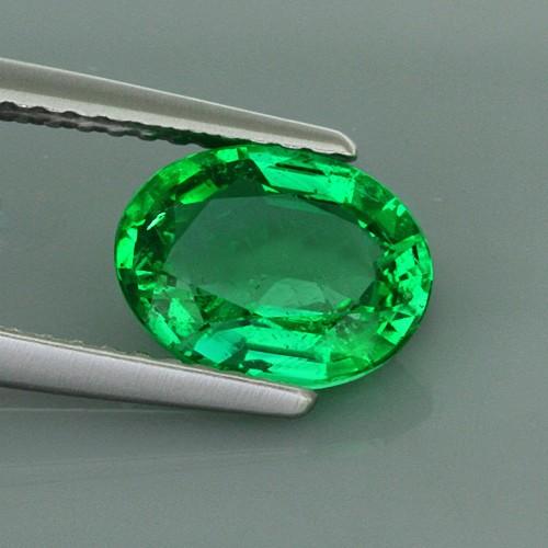 Fin 1,46 ct. smaragd.