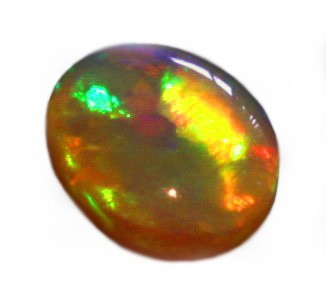 1,95 ct AUSTRALSK SOLID LIGHTNING RIDGE OPAL