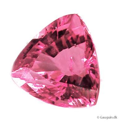 Eksklusiv certificeret 4.10 ct. magenta-pink turmalin