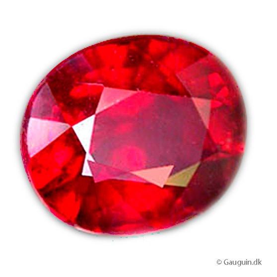 2,25 ct. PIGEON BLOOD RED rubin