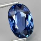 No Heated 1,85 ct. royal blue safir