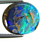 4.76 ct Lightning Ridge Matrix Boulder Opal