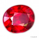 2,25 ct. PIGEON BLOOD RED rubin